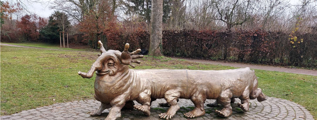 Skulptur Vielfüßler